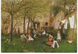Johann Sperl Kindergarten München Neue Pinakothek - Malerei & Gemälde