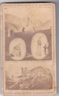 24337 Image Pieuse -souvenir Pelerinage Sainte Vierge La Salette 1846 -peres Missionnaires - Ed Vagneur Paris - Images Religieuses