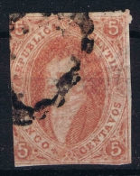 Argentina 1864 Yv Nr  8 Used - Corrientes (1856-1880)