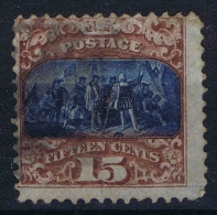 USA  Yv Nr 35I, Mi Nr 32 I  1869  Used , Signed/ Signé/signiert/ Approvato BRUN - 1847-99 Emissions Générales