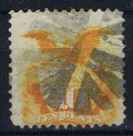 USA  Yv Nr 33, Mi Nr 30 1869  Used , - 1847-99 Algemene Uitgaves