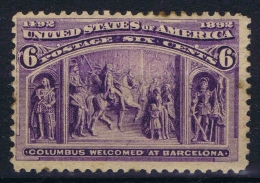USA  Yv Nr 86, Mi Nr 78, Sc 235 1893 MH/* - 1847-99 Algemene Uitgaves