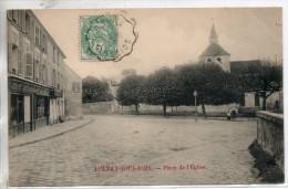 93. Aulnay Sous Bois. Place De L'eglise - Aulnay Sous Bois
