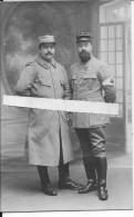 1915-1916 Amiens Somme Soldat Du 419ème R.I Capote Poiret Officier Médecin Croix  De Guerre 1carte Photo 14-18 Ww1 Wk1 - War, Military