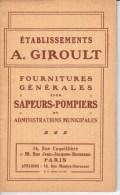 VP94/15- Catalogue De Fournitures Générales Pour Les Sapeurs-Pompiers Et Administrations Municipales - Pompiers