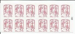 """FRANCE - CARNET DE 12 TIMBRES NEUFS** MARIANNE DE CIAPPA ET KAWENA """"LE PORTAIL DU TIMBRE"""" - N°051 - Carnets"""