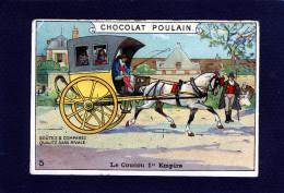 Chocolat Poulain Le Coucou 1er Empire Calèche Cheval Cocher Diligence Transport Tuileries Versailles Saint Cloud -10 525 - Poulain