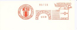 Ema, Meter, H636, Modelprint, Melk, Milk, MEBA (started 1927 To Prevent Typhus, Diphtheria, Tuberculosis) - Food