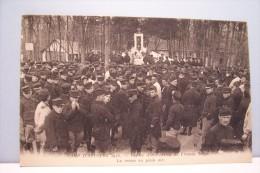 CAMP D'AUVOURS 1915 ( Centre D'instruction De L'Armée  De Belgique ) - La Messe En Plein Air - Autres Communes