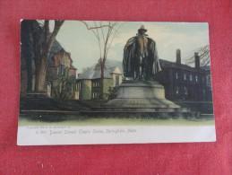 Rotograph---   - Massachusetts> Springfield  Deacon Samuel Chapin Statue--- Reference 1677