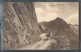 - CPA 65 - Bagnères-de-Bigorre, Escarpement De La Route Du Tourmalet - Bagneres De Bigorre