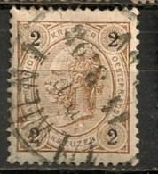 Timbres - Autriche - 1890 - 2 K. -