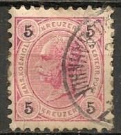 Timbres - Autriche - 1890 - 5 K. -
