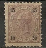 Timbres - Autriche - 1890 - 15 K. -
