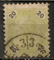 Timbres - Autriche - 1890 - 20 K. -