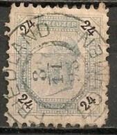 Timbres - Autriche - 1890 - 24 K. -