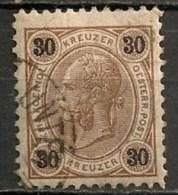 Timbres - Autriche - 1890 - 30 K. -