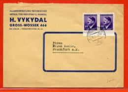BOHEME ET MORAVIE LETTRE DE 1943 DE GROSS WOSSEK - Bohemia Y Moravia