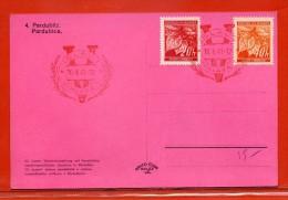 BOHEME ET MORAVIE CARTE DE 1941 OBLITEREE DE IGLAU - Bohemia Y Moravia