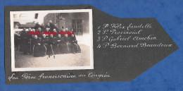 Photo Ancienne - ALENCON - Congrés De Péres Franciscains - 1935 - Félix Landelle Gabriel Amchin Bernard Beaudoux ... - Mestieri