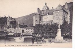 24341 Lot 12 Cpa Vizille Chateau Place Centenaire- LL : 8-423-26-12-44-28-41-14-7-4-24, 274Bourcier Parc Entree Salon - Vizille
