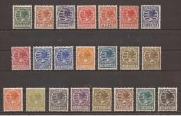NEDERLAND  177 - 198   MET PLAKKER(REST) - AVEC CHARNIERE - MH - MIT FALZ - 1891-1948 (Wilhelmine)