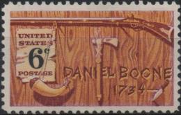 ETATS-UNIS USA  860 ** MNH Hommage Au Trappeur Daniel BOONE - Ungebraucht
