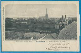 Thourout (carte circul�e) - Panorama de la Ville