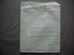 LOIVRE PRES REIMS MARNE EDOUARD PINOT & Cie BLANC DE REIMS COURRIER DU 18 OCTOBRE 1951 - 1950 - ...