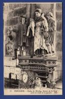 22 TREGUIER Eglise De Minihy, Statue De St-Yves Entre Le Riche Et Le Pauvre - Tréguier