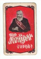 78b 1 enkele Speelkaart Brij. Kruger Eeklo (vuil zie scan)