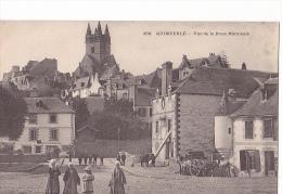 24348 QUIMPERLE ... VUE DE LA PLACE NATIONALE -458 Villard Costume Breton  -karten Bost -