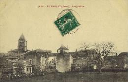 -86- (Vienne)  Le VIGEANT  Vue Générale Du Village . Animé . Circulée 1956- TBE - France