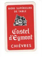 101b 1 Losse Speelkaart Brie. Castel d'Egmont Chi�vres
