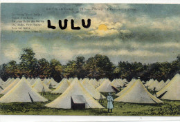 Militaria , La Vie Au Camp , 10 H Du Soir , L Extection Des Feux - Manovre