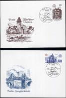 750 JAHRE BERLIN: 2 Schmuckbriefe DDR II - Briefe U. Dokumente