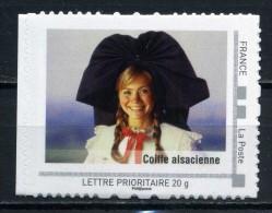 "Coiffe Alsacienne .  Adhésif Neuf ** . Collector "" ALSACE ""  2009 - Collectors"