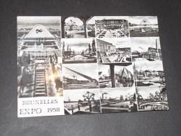BRUXELLES - Expo 1958 - Carte Multi Vues - Wereldtentoonstellingen