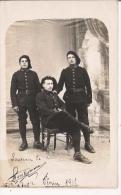 MILITAIRES DU 157 EME INFANTERIE (CANTONNE A CETTE EPOQUE A GAP BARCELONNETTE ST VINCENT  CARTE PHOTO DE 1915 - Weltkrieg 1914-18