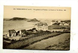 Trébeurden : Vue Générale De Trémeur, Le Castel Et L'Ile Millau - Trébeurden