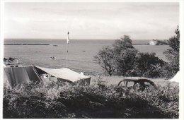 PETITE PHOTO CIBOURE LA RADE ET NOTRE TENTE DE CAMPING 06.1957 - Photos