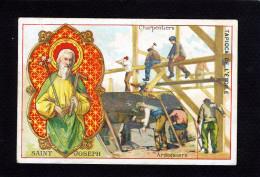 Tapioca De L´étoile - Métiers - Saint Joseph Charpentiers Ardoisiers -10 555 - Chromos