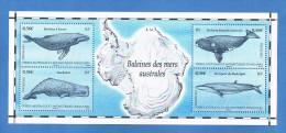 TAAF - Terres Australes Et Antarctiques Françaises - Année 2011 - Baleines Des Mers Australe - Neuf** - Blocs-feuillets