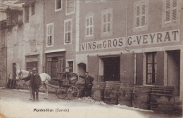 73 - MONTMELIAN - G.VEYRAT - VINS EN GROS - Montmelian