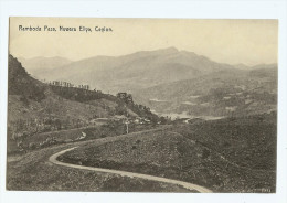 Vintage Ceylon Ramboda Pass Nuwara Eliya Pc Unused - Sri Lanka (Ceylon)