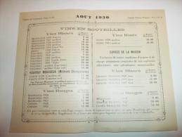 2xhc - Prospectus Dépliant ( 14cm X 9 Cm ) - MONTLOUIS - Vins Des Coteaux De La Touraine - [37] - Indre Et Loire - Francia
