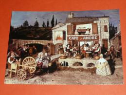 CPM, Carte Postale, Aveyron 12, Sauclières, Musée D'Automates, Fabrique De Santons, Automate Santon - Otros Municipios