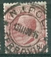 Italien 1906 10 C. Gest. Viktor Emanuel TGST 2008 Neapel - Usados