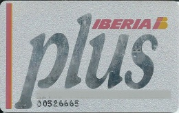 Card IBERIA PLUS AIRLINES SPAIN - Other Collections