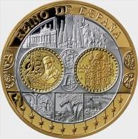 España 2002. Conmemorativa De Gaudi-400 Euros-Oro 999/1000 Y Plata 999/1000. - España